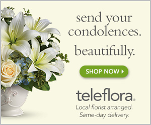 teleflora Send your condolences. Beautifully.